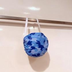mascherina mimetico azzurro blu sterilizzabile lavabile protettiva riutilizzabile